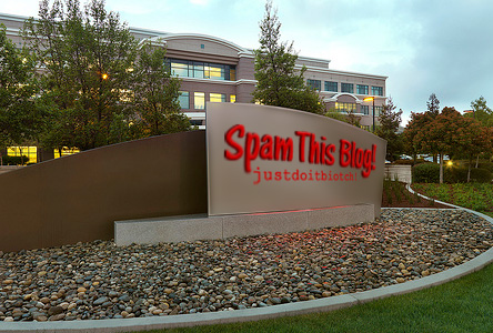 Spam This Blog Corporate Headquarters